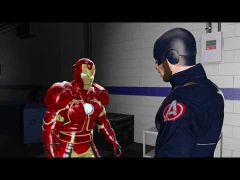 Download WWE 2K17 Ironman VS Captain America In A Backstage Brawl HD Mp4 3GP Video and MP3