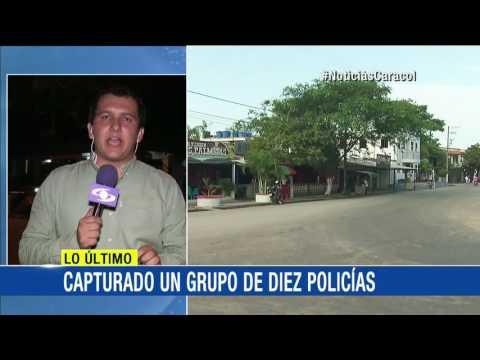 Ejército capturó a diez policías en Caquetá