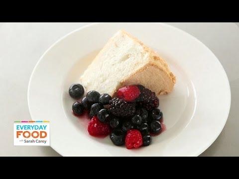 Angel Food Cake – Everyday Food with Sarah Carey