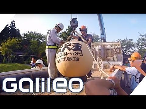 Der größte Feuerwerkskörper der Welt | Galileo | ProSieben