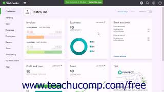 QuickBooks Online Plus 2017 Tutorial Cancelling a Company File Intuit Training