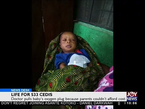 Life for 533 Cedis - News Desk on Joy News (11-4-18)
