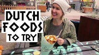 Dutch Foods To Try | Kholo.pk