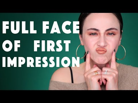 Full Face First Impression | HELLER FOUNDATION FAIL 😖 Hatice Schmidt