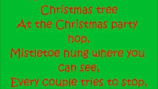 Rockin' around the Christmas tree-Miley Cyrus Lyrics
