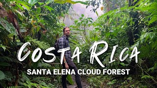 Santa Elena Cloud Forest, Monteverde, Costa Rica   Travel Vlog