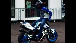 f1dc6e04d8 preview picture of video  Mattie Griffin stunt show   BMW Motorrad Douglas  Park East Kilbride