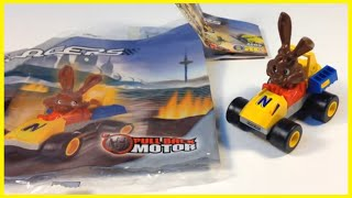 LEGO Racers Nesquik Quicky the Bunny set 4299 from 2002 REVIEW