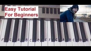 Shape of you |keyboard|Tutorial|Piano|Harmonium|Slow Tutorial for beginners