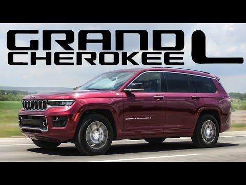 2021 Jeep Grand Cherokee L Review - 3 ROW LUXURY OFF ROAD MINIVAN ALTERNATIVE!