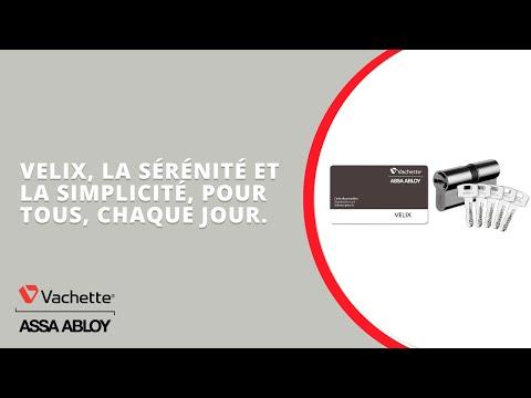 Cylindres Velix Vachette, la sérénité et la simplicité, pour tous, chaque jour.