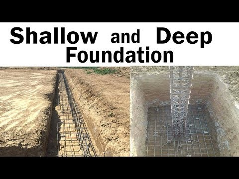 difference between shallow and deep Foundation?
