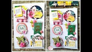 Process Video-DIY Embellishment Card Candy