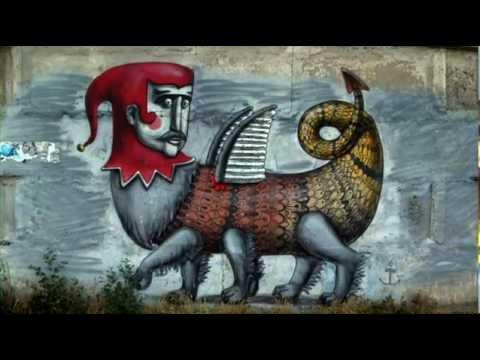 Український стріт-арт очима француза. 2012 Street art - YouTube