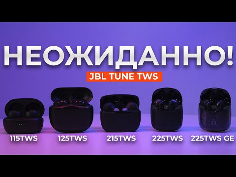 Наушники JBL Tune 125 TWS (синий)