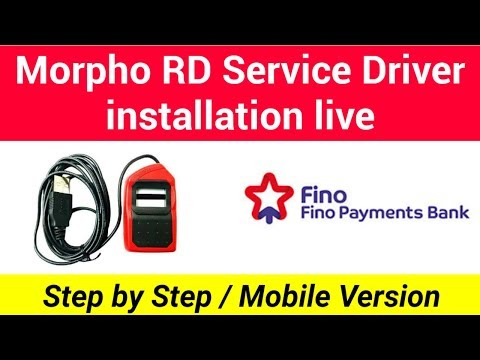 Fino Payments Bank | morpho RD service install new| Helping