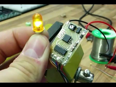 LED Rundumleuchte bauen