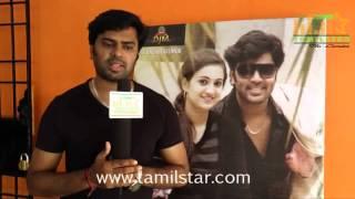 Gautham Krishna at Manal Naharam Movie Team Interview