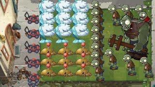 Plants vs Zombies 2 - Potato Mine and Cold Snapdragon vs all Zombies