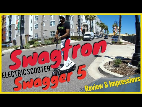Swagtron Swagger 5 Electric Scooter Review (Online Shopping My Way)