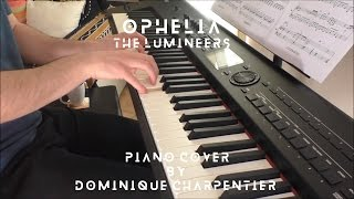 The Lumineers - Ophelia (piano cover & sheet)