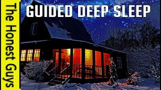 GUIDED SLEEP MEDITATION STORY: The Porch (with Gentle Wind & Rain)