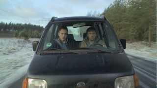 Video Film Mit Kater ins Auto
