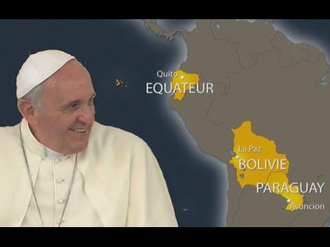 Le Pape François en Amérique latine (bande-annonce)