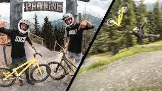 Downhill on a Trials Bike |SickSeries #52