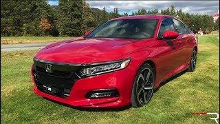 2018 Honda Accord Sport 2.0T – The Type R of Family Sedans