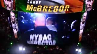 """Conor McGregor's Gangsta UFC 205 Entrance To 50 Cent's """"I Get Money"""""""