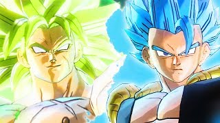 NEW BROLY & SSGSS GOGETA FROM DBS MOVIE - Dragon Ball Xenoverse 2 Extra Pack 4 | Pungence