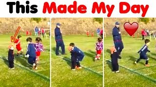 He Did This During His Soccer Game..My Heart Melted