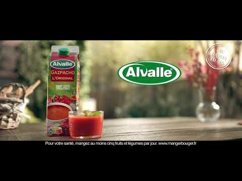 Musique publicité Alvalle Gazpacho Alvalle – Aussi mmmmh que waouh !    Septembre 2021