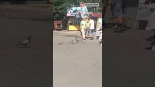 Драка аниматоров в парке им. 30 лет ВЛКСМ - Омск (23.06.2017)