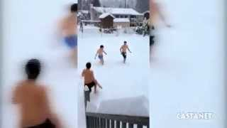 How residents of Kelowna spent their snow day