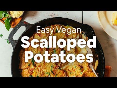 Easy Vegan Scalloped Potatoes | Minimalist Baker