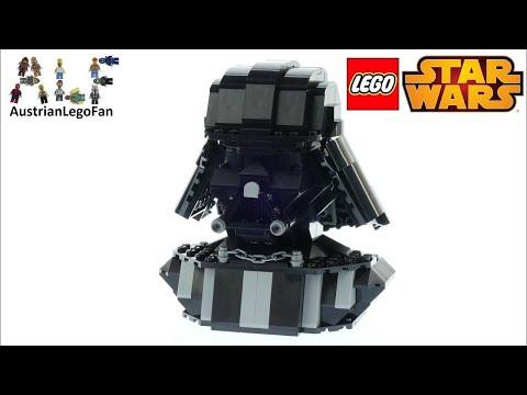Vidéo LEGO Star Wars 75227 : Buste de Dark Vador