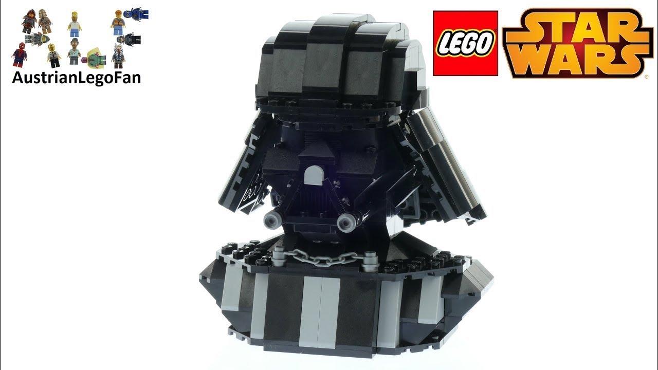 Lego Star Wars 75227 Darth Vader Bust Speed Build