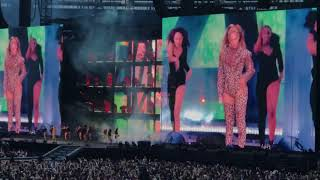 On The Run II Tour - Beyoncé - Irreplaceable/Diva - Olympic Stadium, London 2018