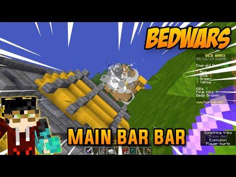 MAIN BAR-BAR di BEDWARS HYPIXEL!!  /w KACUNG GAMING   Minecraft Indonesia