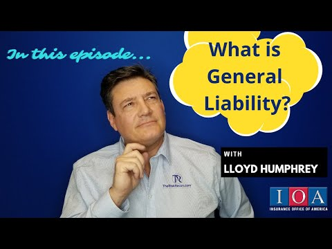 , title : 'What is GENERAL LIABILITY?  From injuries to property damage, we discuss this and more!