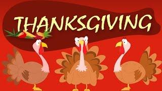 Gobble Gobble |Turkey Song | Thanksgiving Song |
