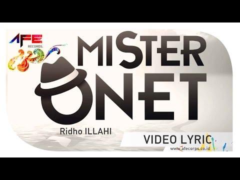 Onet   ridho illahi  official lyric video