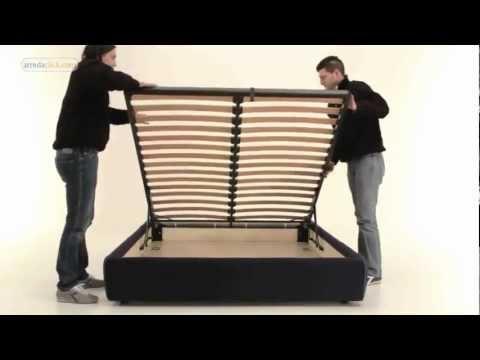 Come montare letti con contenitore