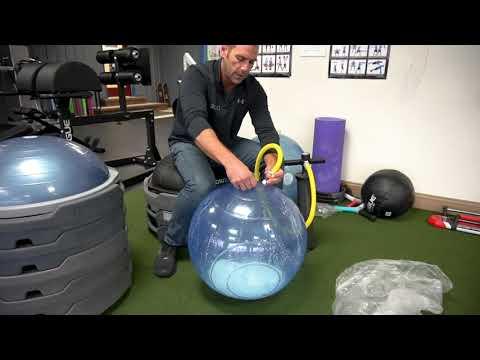 BOSU® Ballast® Ball Inflation