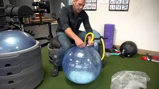 BOSU® Ballast® Ball Inflation