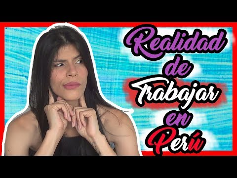 Lo que NO SABES de los TRABAJOS en Perú 😨 | @Monicasymonee