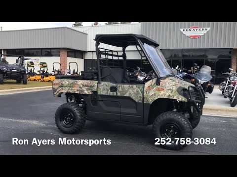 2019 Kawasaki Mule PRO-MX EPS Camo in Greenville, North Carolina - Video 1