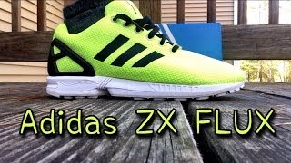 "Adidas ZX Flux ""Electricity"" Review & On Feet"